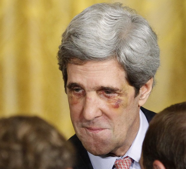 john kerry no makeup